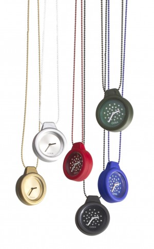 O CLICK / NECKLACE WATCH